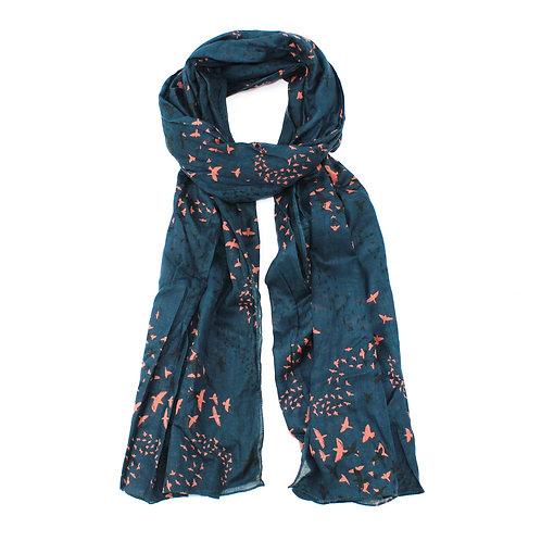 Birds scarf