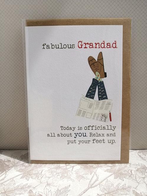 Fabulous Grandad card
