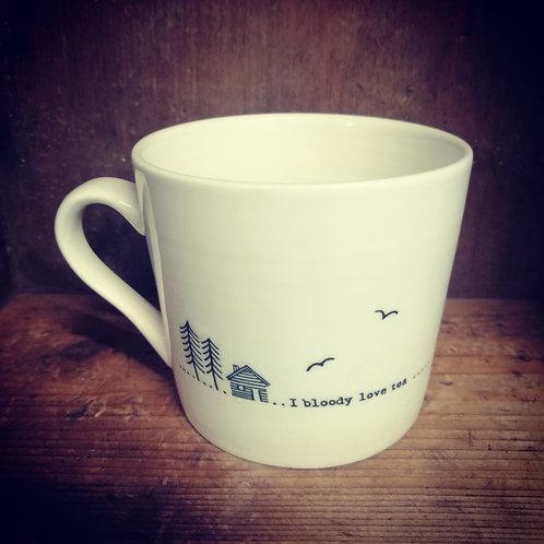 East of India porcelain mug - I bloody love tea