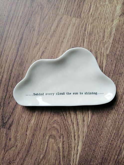 Behind every cloud small dish