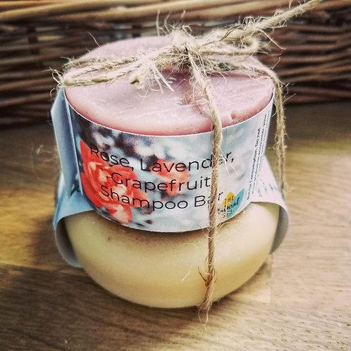Rose, Lavender & grapefruit shampoo and conditioner bar