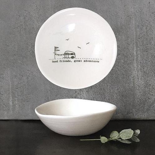 Good friends, great adventures - med ceramic bowl