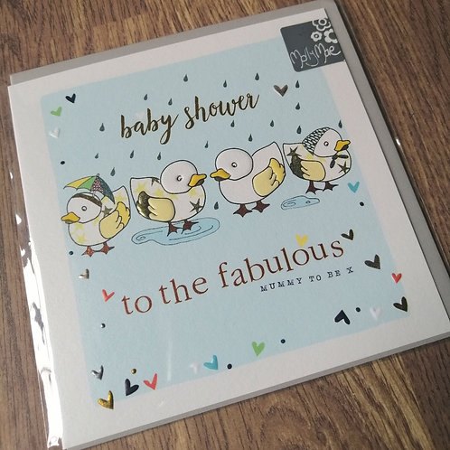 Baby shower - to the fabulous Mummy to be