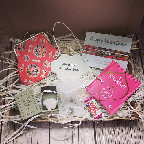 Letterbox care gift package - Always find the silver lining