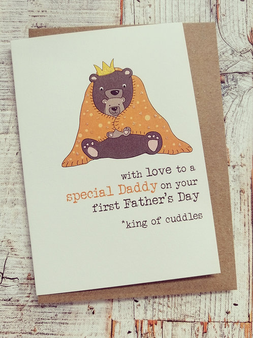 Father's Day Card - Special Daddy