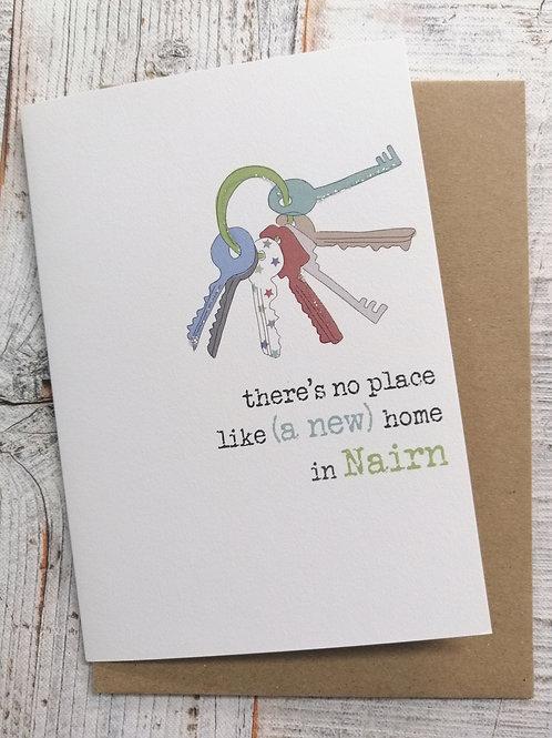New Home Card - Nairn