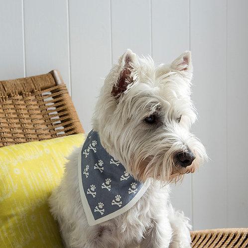 Large dog bandanas GREY, RED & NAVY available