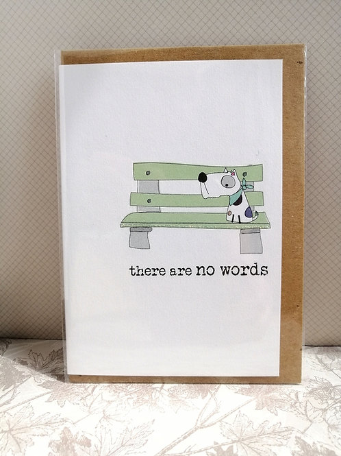There are no word dog card