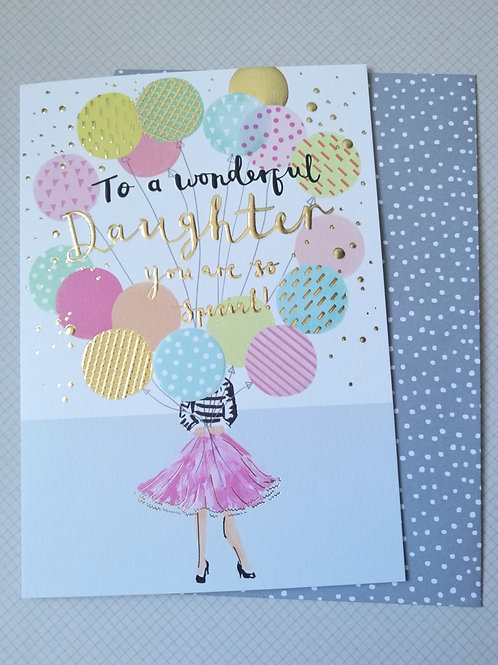 To a Wonderful Daughter you are so special card