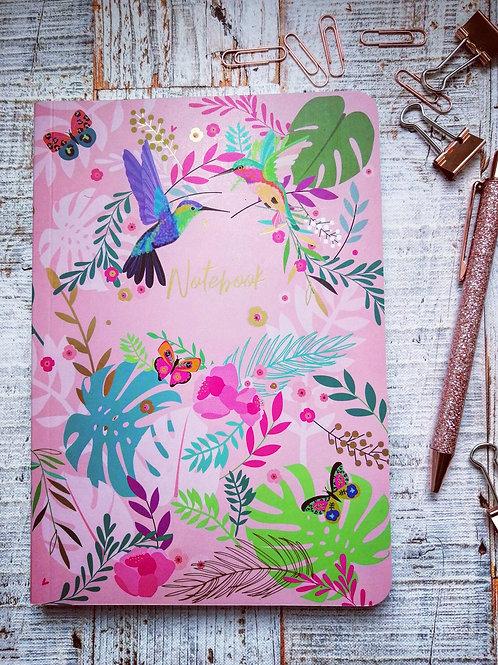 Hummingbird note book