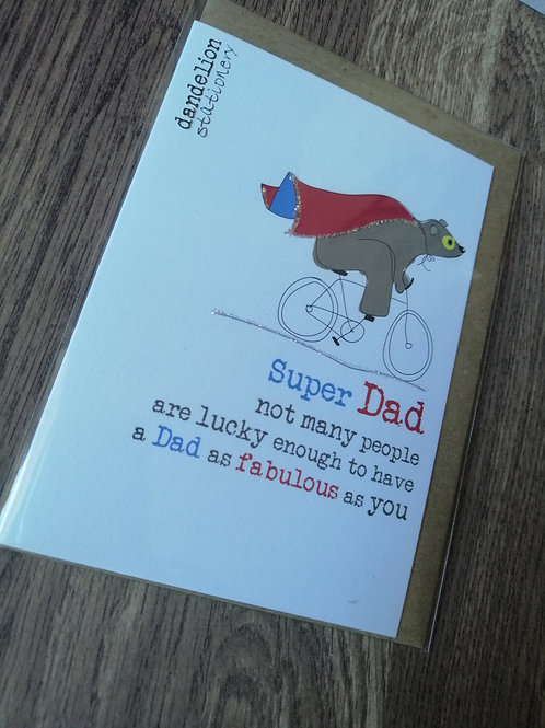 Super Dad - Birthday / Father's Day card