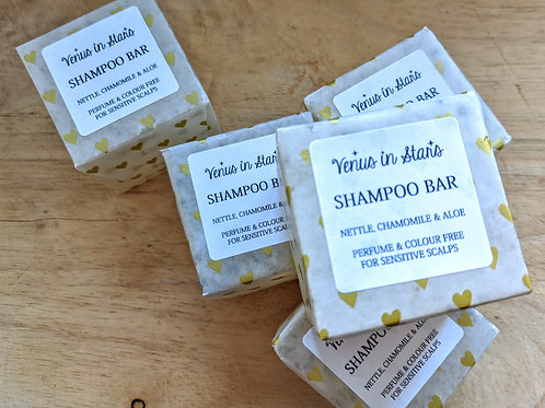 Nettle, Chamomile & Aloe Shampoo Bar