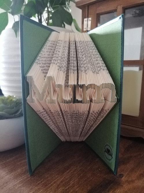 Mum book fold