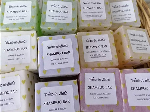 3 shampoo bars