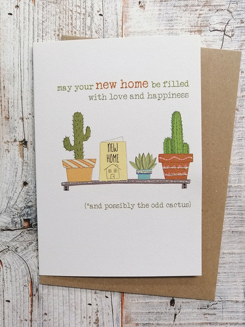 New Home Card - Love and happiness