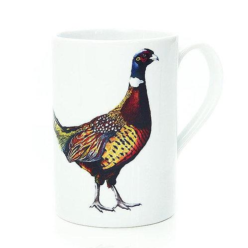 Pheasant Porcelain Mug