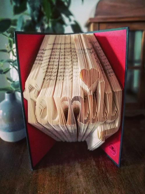 Family book fold