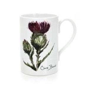 Thistle - Flower of Scotland Porcelain Mug