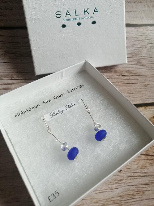 Hebridean Sea Glass Earrings