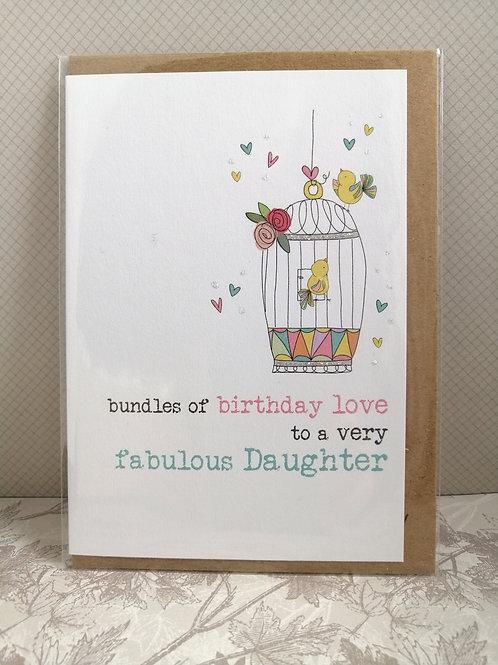 Fabulous Daughter card
