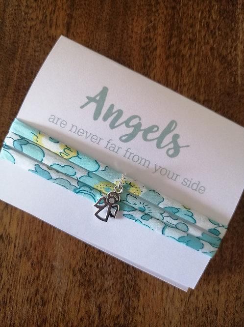 Angels bracelet - Liberty fabric