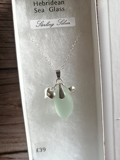 Salka Sea Glass Pendant