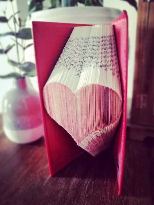 Love heart book forl