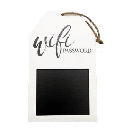 Handing WiFi password blackboard