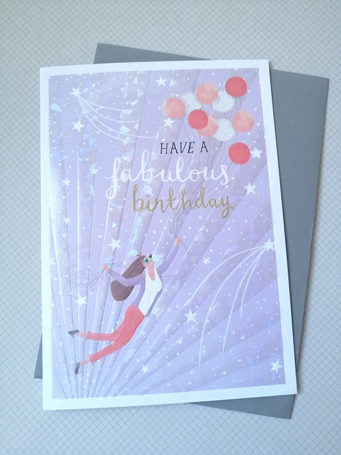Have a fabulous birthday card