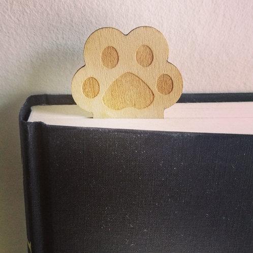 Paw-sed here bookmark