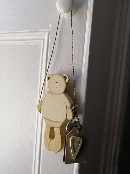 Wooden new baby hanger