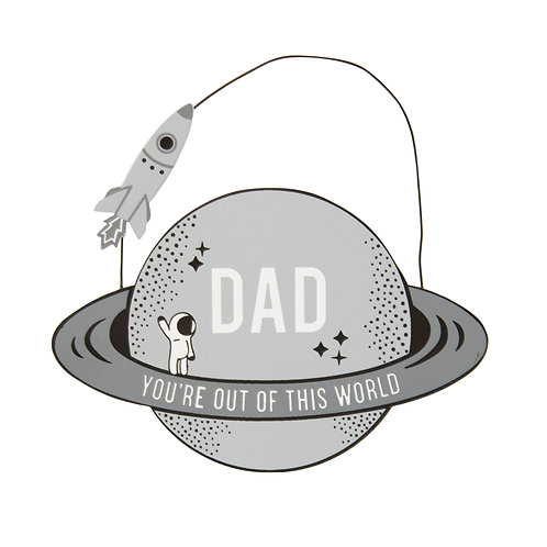 Fathers Day Plaque - Out Of This World