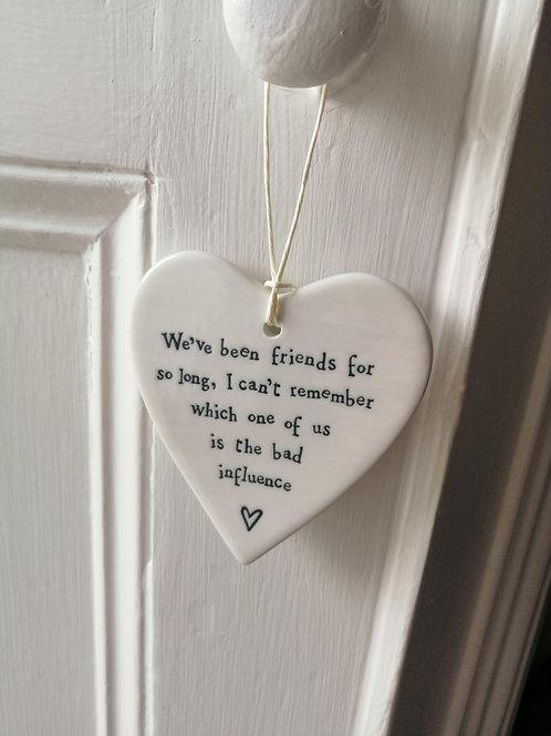 We've been friends for - Porcelain Heart