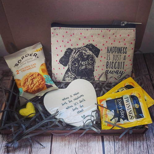 Happiness is just a biscuit away gift bundle
