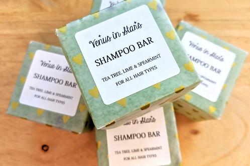 Tea Tree, Lime & Spearmint Shampoo Bar