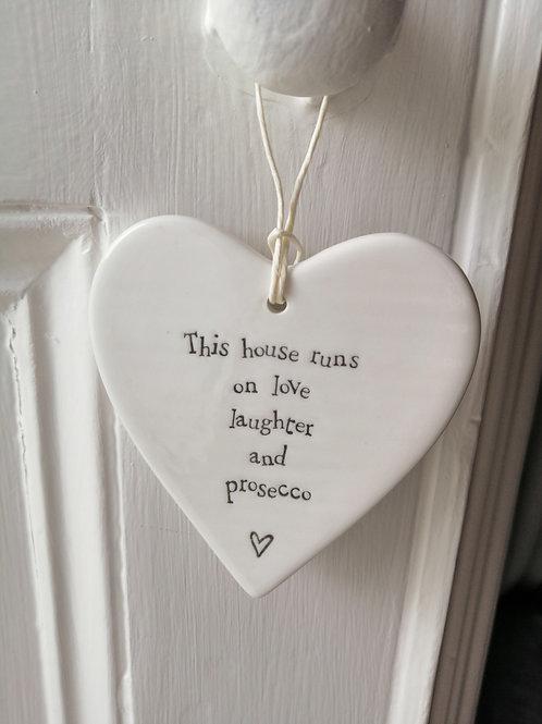 This house runs - Porcelain Heart