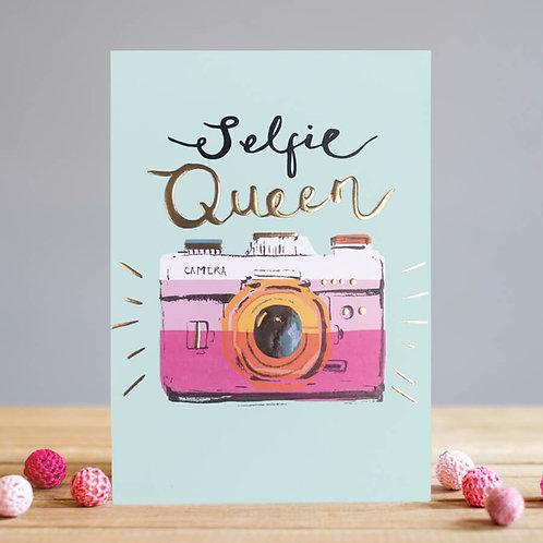 Selfie Queen card