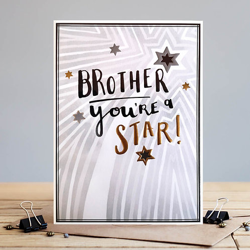 Brother you're a star