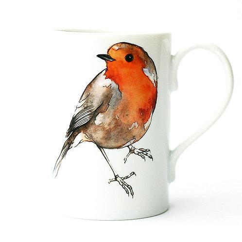Robin Porcelain Mug