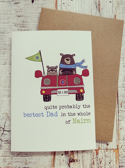 Father's Day Card - Quite probably