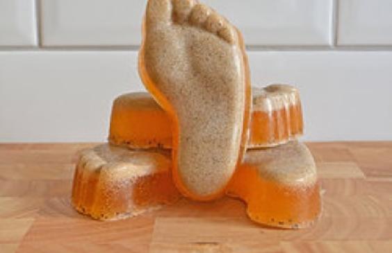 Satsuma foot scrub