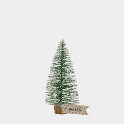 Bottle brush Christmas  tree medium