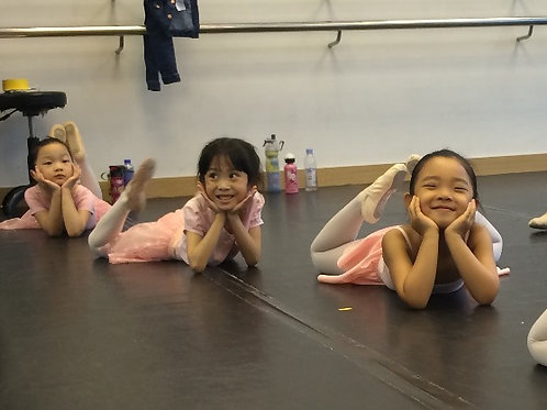 Ballet (Age 3 to 5) Week 1