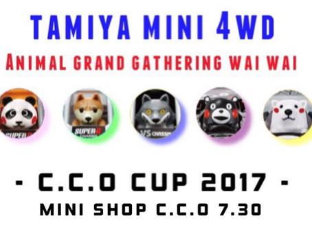 MINI 4WD C.C.O CUP 2017 vol.2