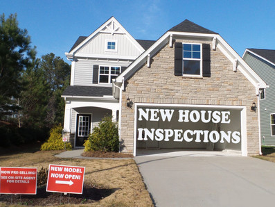 New house inspections