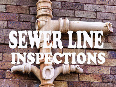 Sewer line inspections