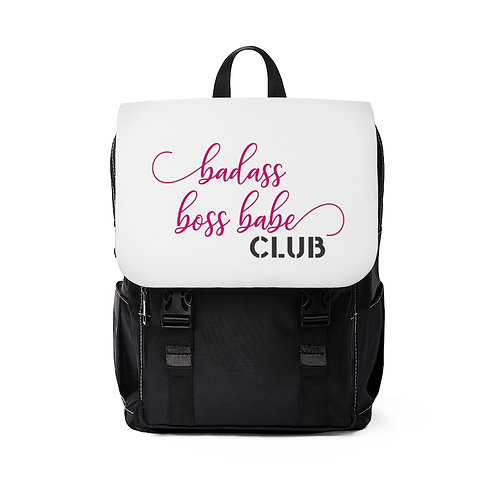 Badass Boss Babe Club Shoulder Backpack