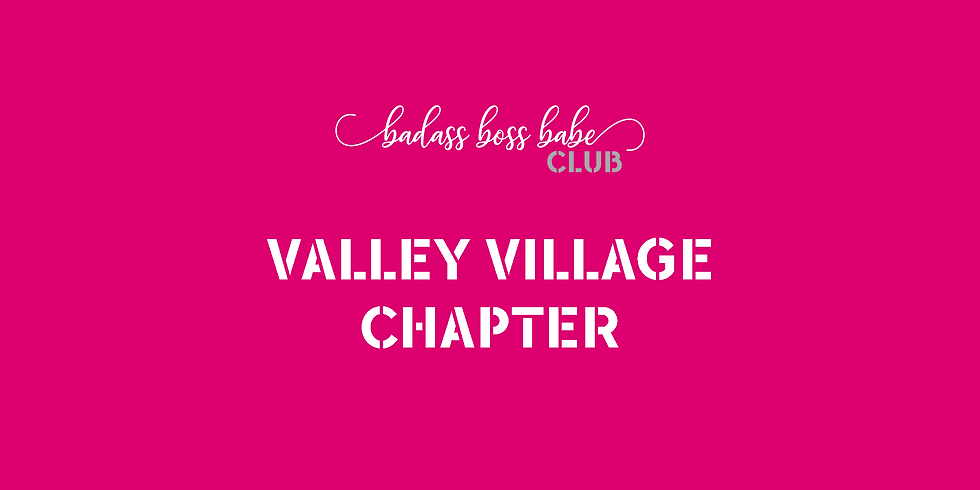 Valley Village Chapter - Virtual Monthly Mixer