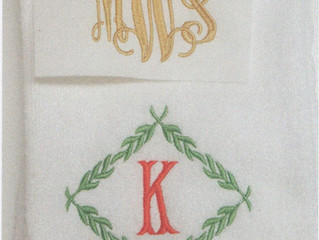 Embroidery and Monogram: The Art of Letters