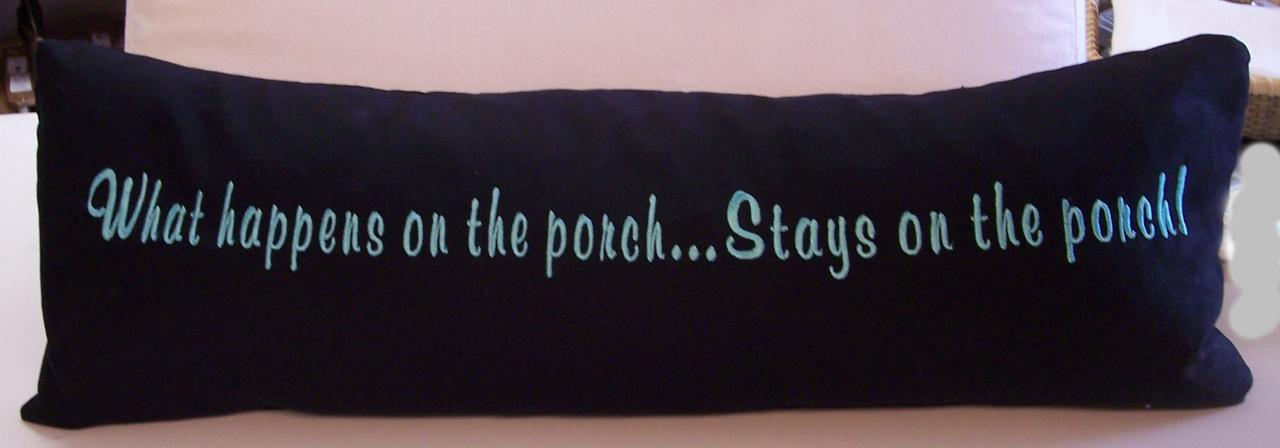 Porch Pillow
